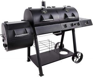 Oklahoma Joe's Charcoal, LP Gas, Smoker Combo