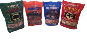 Western BBQ Smoking Wood Chips Variety Pack Bundle