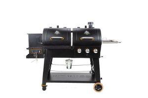 gas grill smoker combo